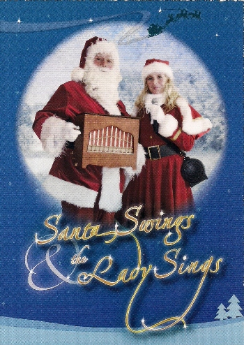 Santa Swings and The Lady Sings mobiele Kerstmuziek act